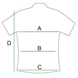 Camisa para tallaje