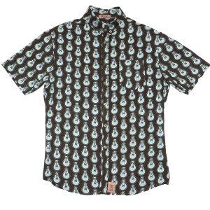 Camisa con bombillas estampadas, La Paca