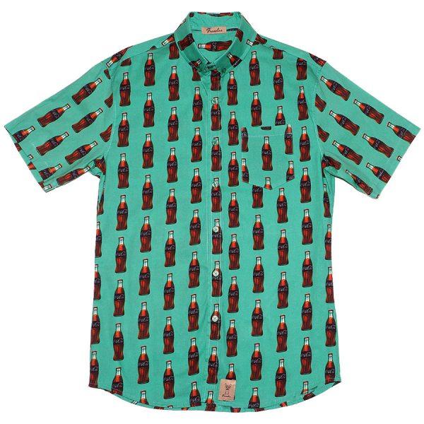 Camisa con cocacolas, La Chispa