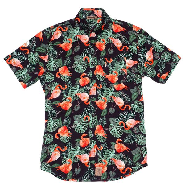 Camisa con flamencos, La Flamenca
