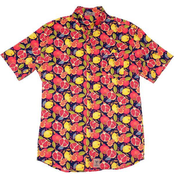 Camisa con frutas estampadas, Jimenita