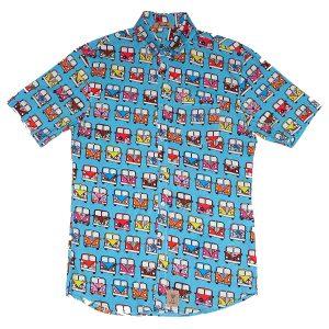 Camisa con furgonetas, Histoy Girls