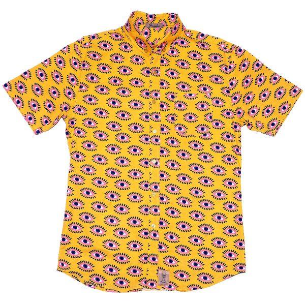 Camisa amarilla con ojos, La Filo