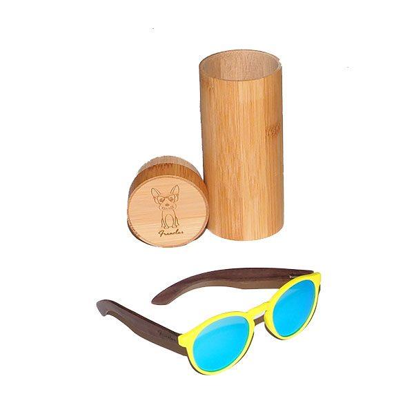 Gafas de sol san san yellow con caja