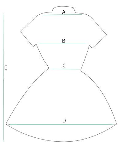 Medidas camisola