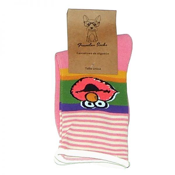 Calcetines de Elmo rosas