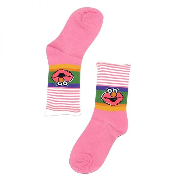 Calcetines Elmo rosas