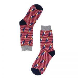 Calcetines de tucanes, media caña