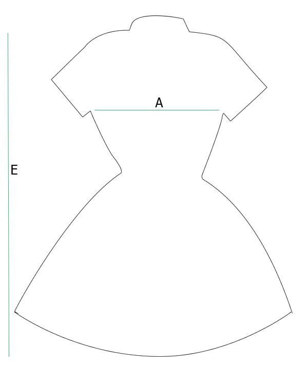Medidas vestido camisa