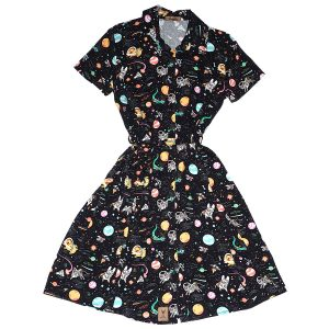 Vestido camisa Space Dogs