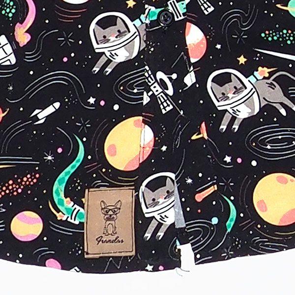 Falda del vestido camisa Space Dogs