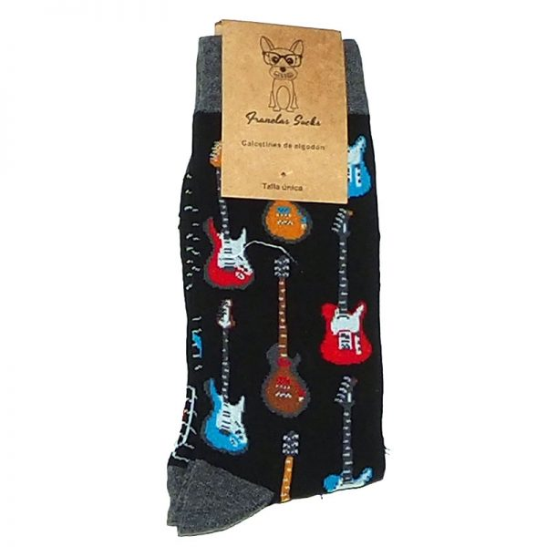 Calcetines Guitarra, media caña