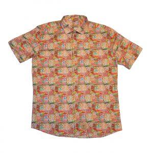 camisa estampada consuenes franelas