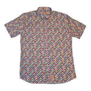 camisa estampada madrileña franelas