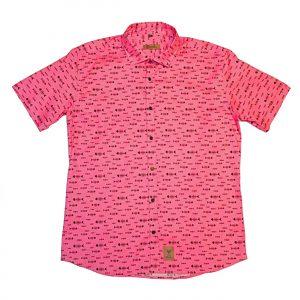 camisa estampada malagueña franelas