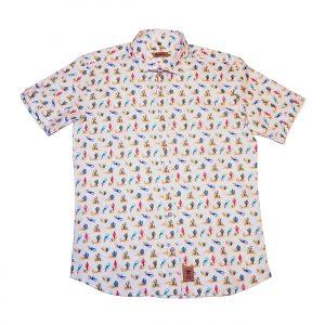 camiseta estampada monearas franelas
