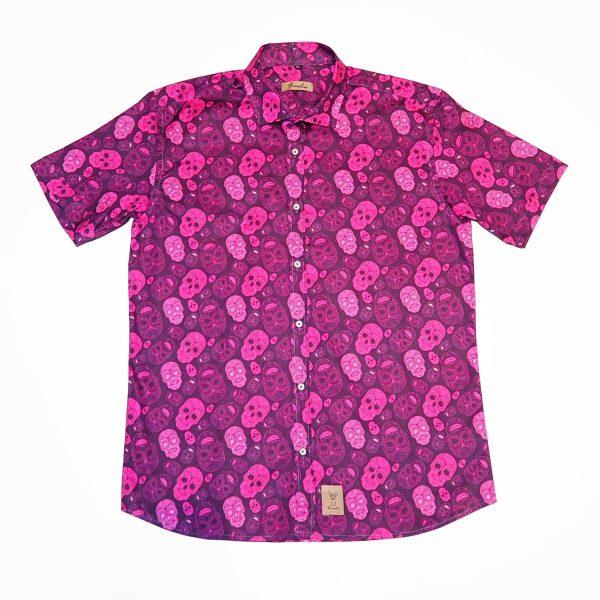 camiseta estampada tinerfeña franelas